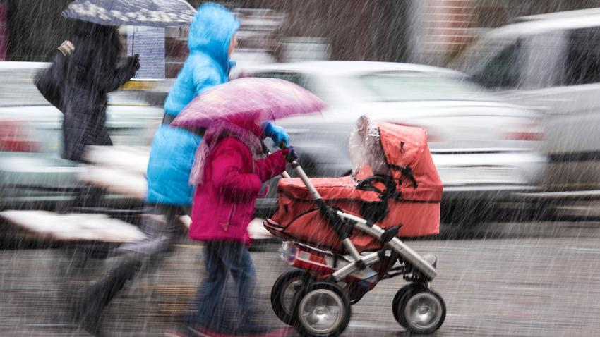 Drastyczna Zmiana Pogody Pojawi Się Deszcz Ze śniegiem