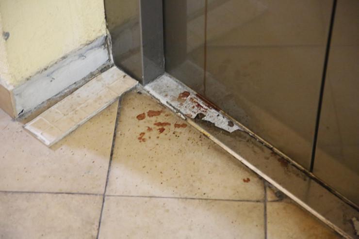Gandijeva 106 mrtva devojka u stanu