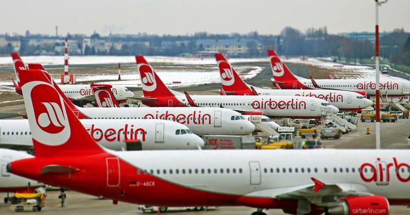 Air Berlin to drugi pod względem wielkości przewoźnik lotniczy w Niemczech