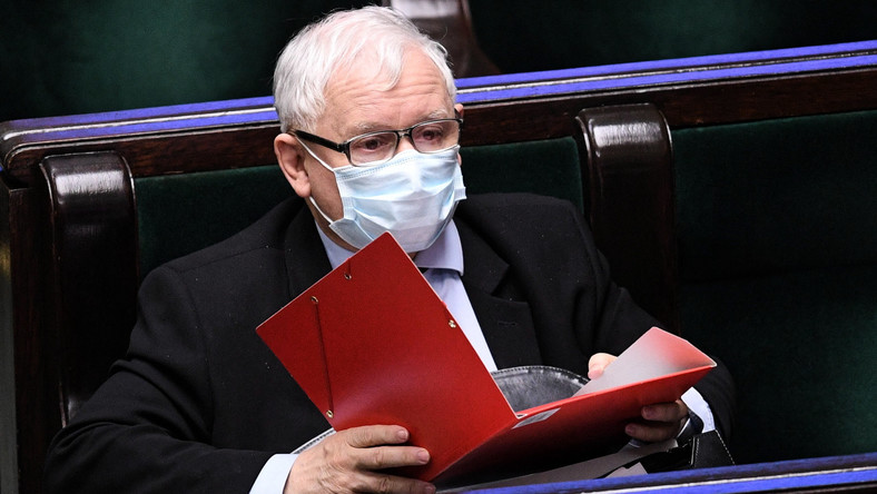 Wybory prezydenckie 2020. Kaczyński w ostrych słowach krytykuje opozycję
