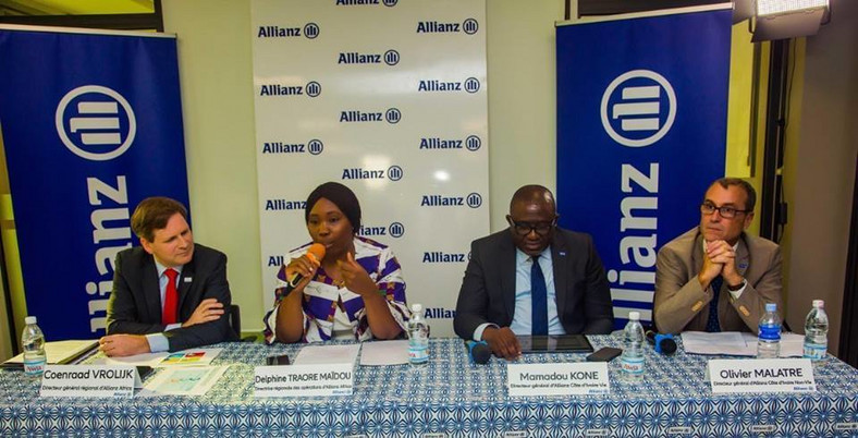 Allianz Africa during the unveiled of its new operational hub in Abidjan