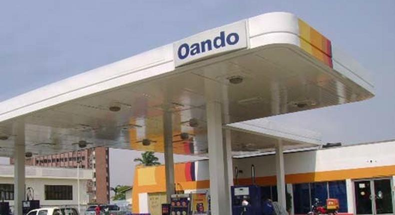 One of the Oando filling stations in Abuja was also sealed.