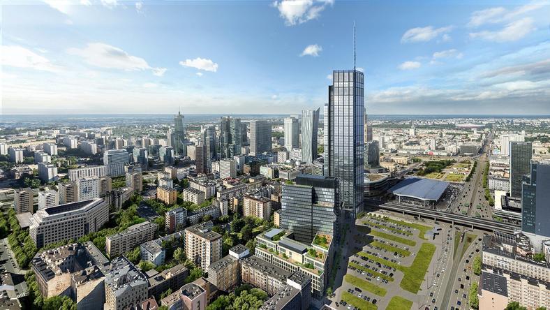Wizualizacja: tak będzie wyglądał najwyższy biurowiec w Europie Środkowej