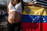 venecuela trudnica protest