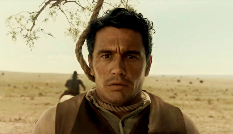 "James Franco în ""The Ballad of Buster Scruggs"""