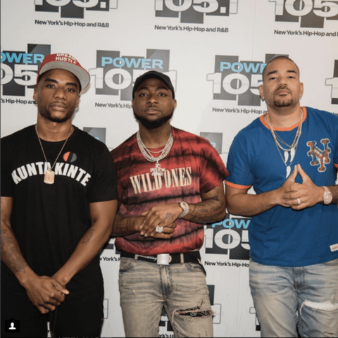 Davido on the Breakfast Club with Charlamagne and DJ Envy [BreakfastClub]