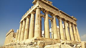 Grecja: rekonstrukcja fragmentu muru Akropolu