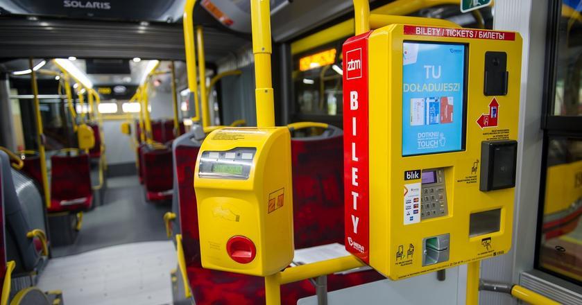 ZTM rezygnuje z możliwości kupienia biletu u kierowcy i motorniczego