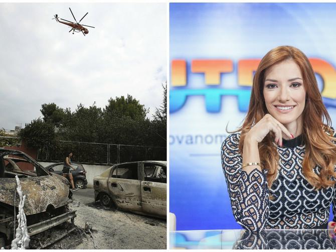 Jovana Joksimović iz ATINE: Ostajemo ovde. Trenutno nema panike, ali na ulicama je pusto