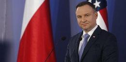 Nagrali minę Andrzeja Dudy po pytaniu Trumpa o uczciwość mediów w Polsce