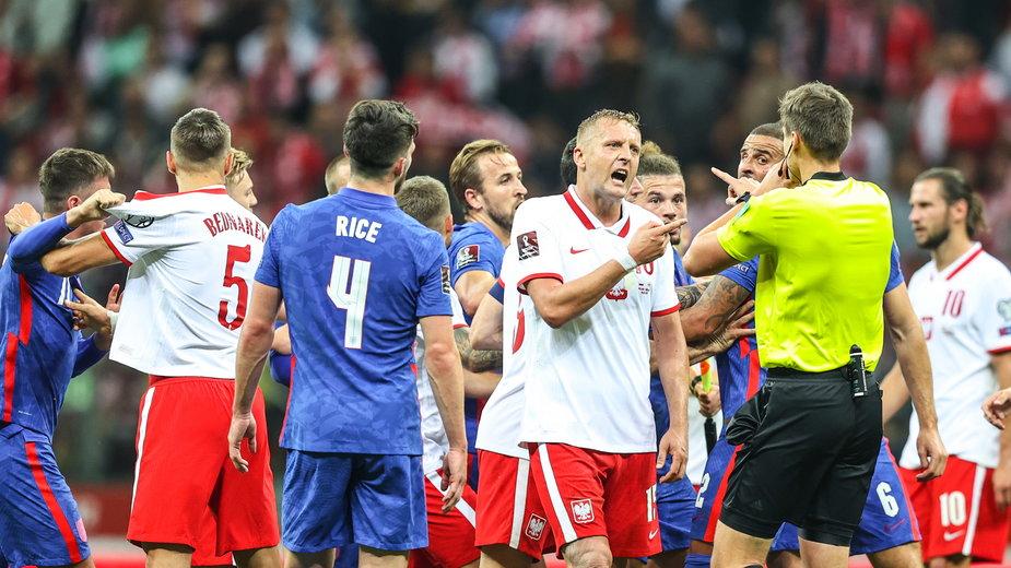 Zamieszanie z meczu Polska — Anglia