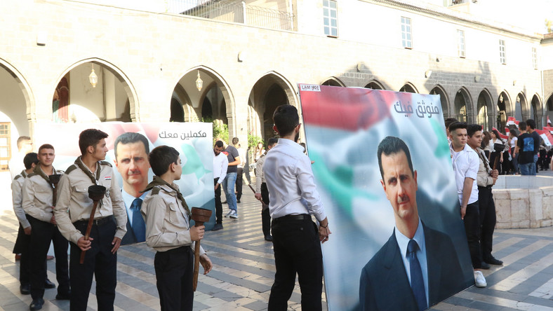 Zwolennicy Baszara Asada