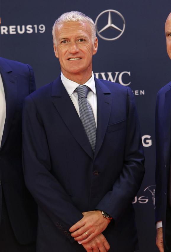 Didije Dešan, selektor fudbalera Francuske