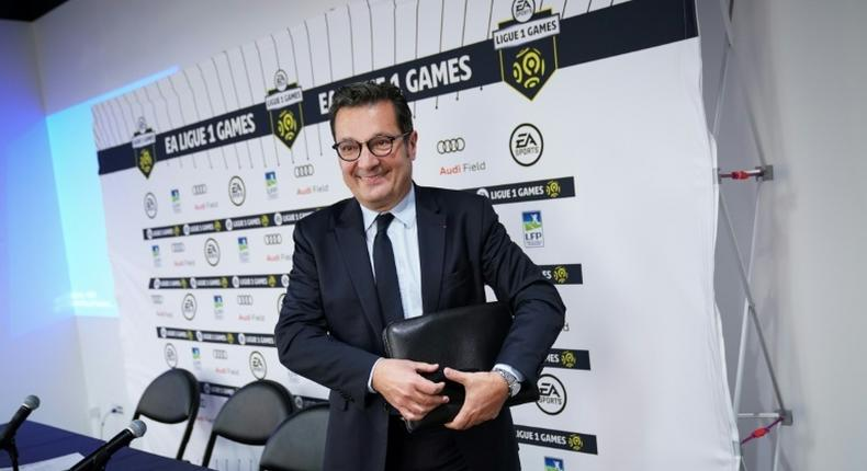 Didier Quillot, CEO of LFP (Ligue de Football Professionnel) wants Ligue 1 to boost its profile in the US and China