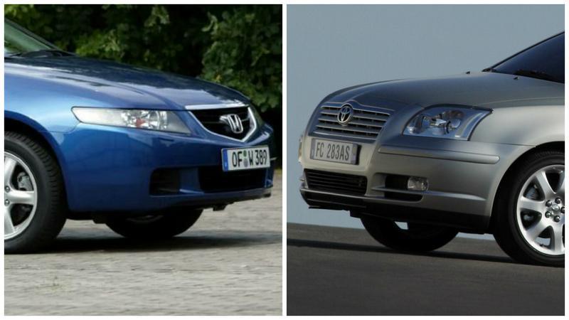 honda accord vii vs. toyota avensis t25 - czy nadal są równi? - moto