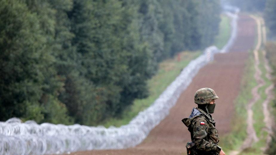 Płot na wschodniej granicy