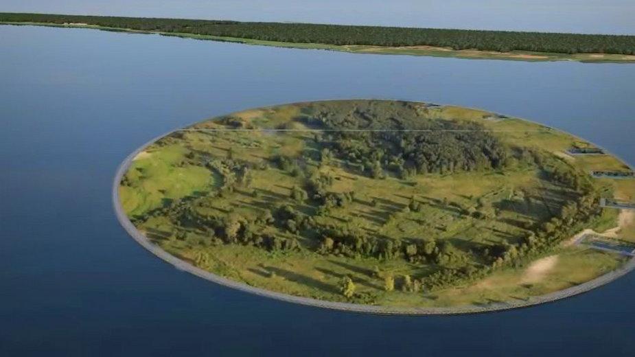 W wyniku przekopu Mierzei Wiślanej powstanie sztuczna wyspa