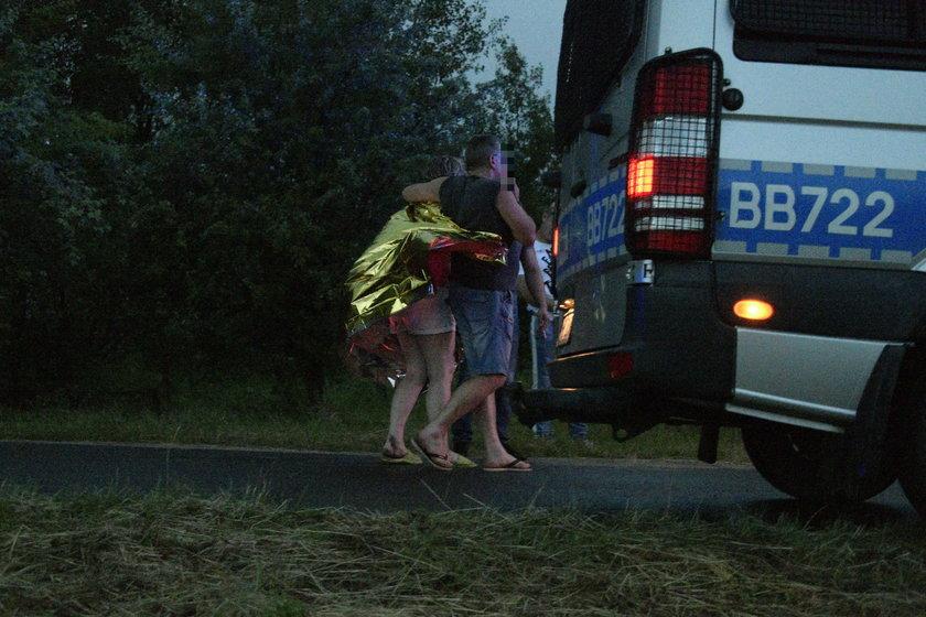 Wypadek na przejeździe