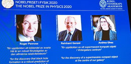 Nagroda Nobla z fizyki przyznana! Laureaci rozwikłali tajemnicę czarnych dziur