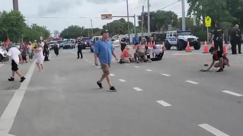 Furgonetka wjechała w uczestników Parady Równości na Florydzie