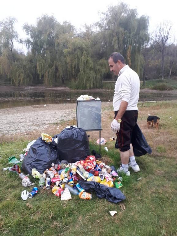 Iranac Muhamed Abasi čistio Sotsko jezero