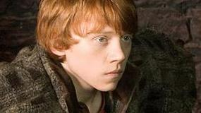 "Rupert Grint o pocałunkach na planie ""Harry'ego Pottera"""