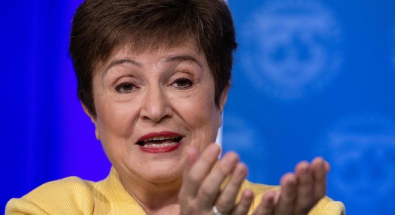 IMF's Managing Director, Kristalina Georgieva