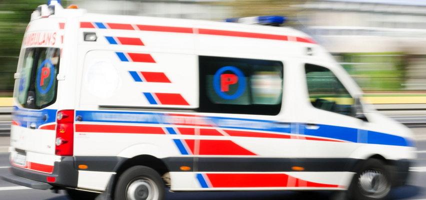 Koszmarny wypadek z udziałem dzieci pod Kutnem. 10 osób rannych