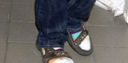 Gwiazda muzyki nosi sandały plus...