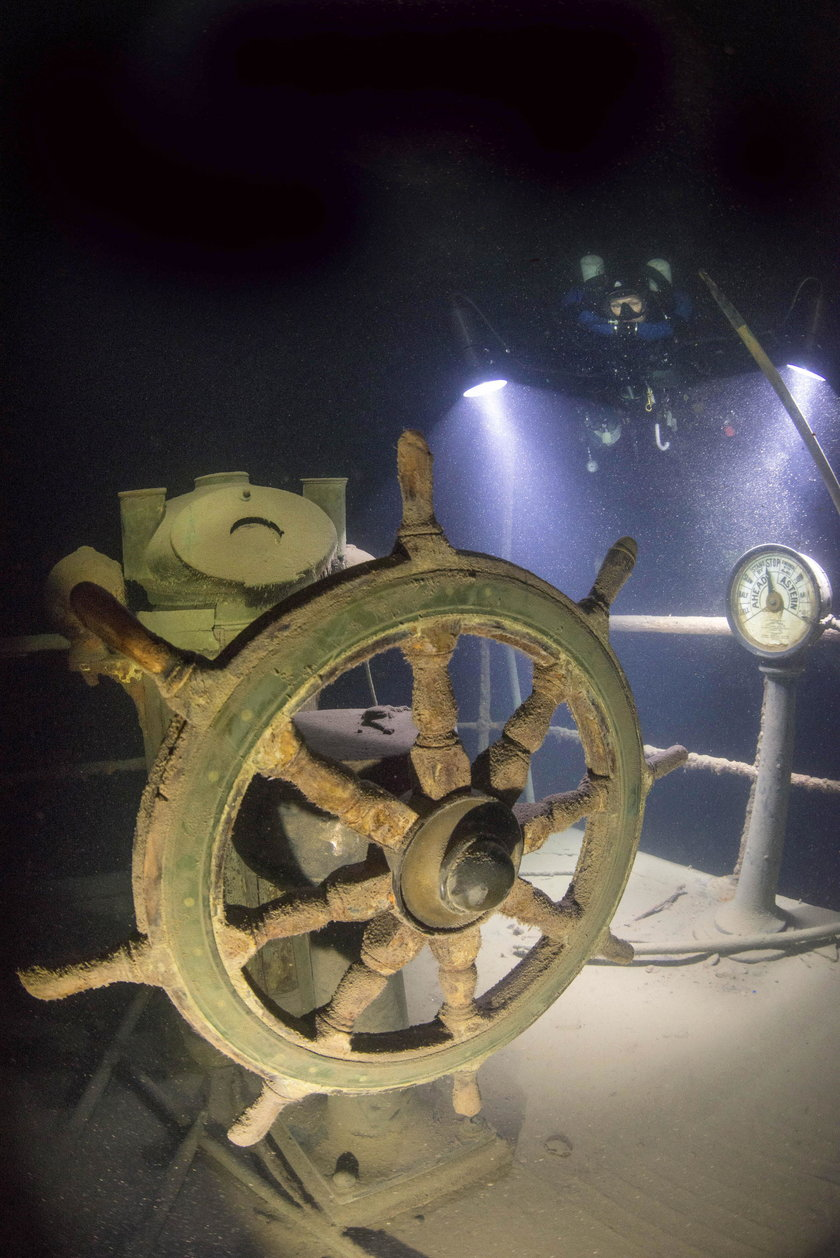Ten statek zatonął w 1911. Nie uwierzysz w jakim jest stanie