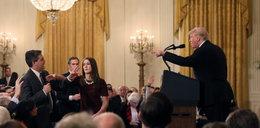 Awantura w Białym Domu. Trump zaatakował dziennikarzy