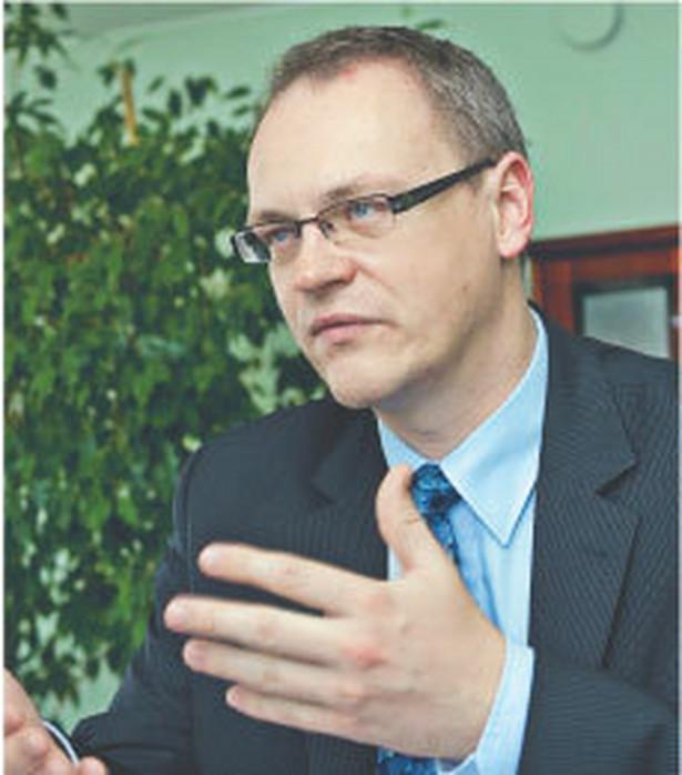 Jarosław Pawłowski, wiceminister rozwoju regionalnego Fot. Wojciech Górski