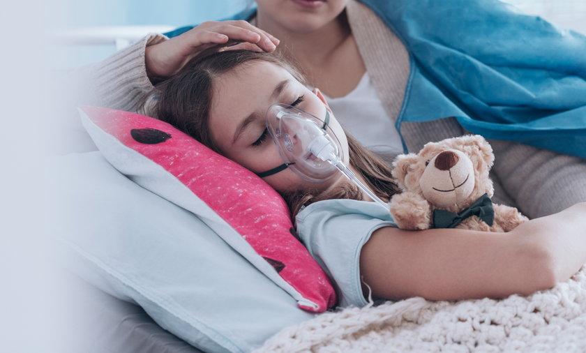Brytyjski wariant koronawirusa zagraża dzieciom! Mają objawy i zespół pocovidowy