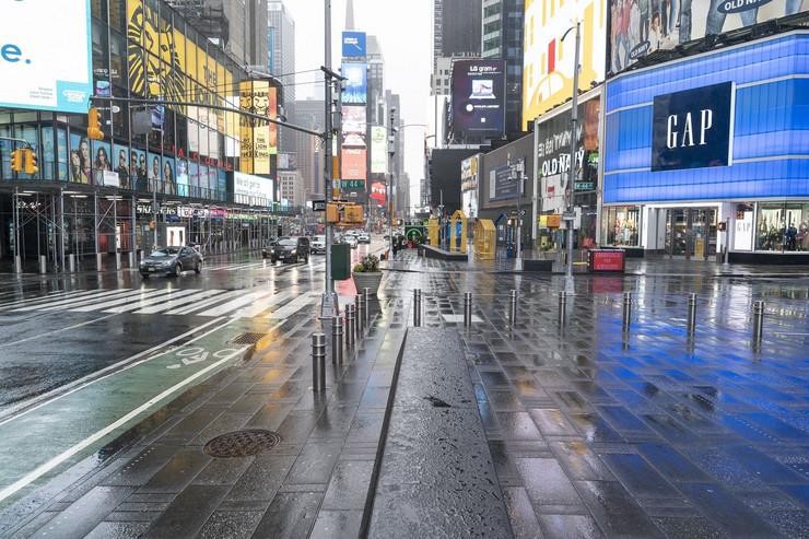 Njujork prazne ulice profimedia-0509054376