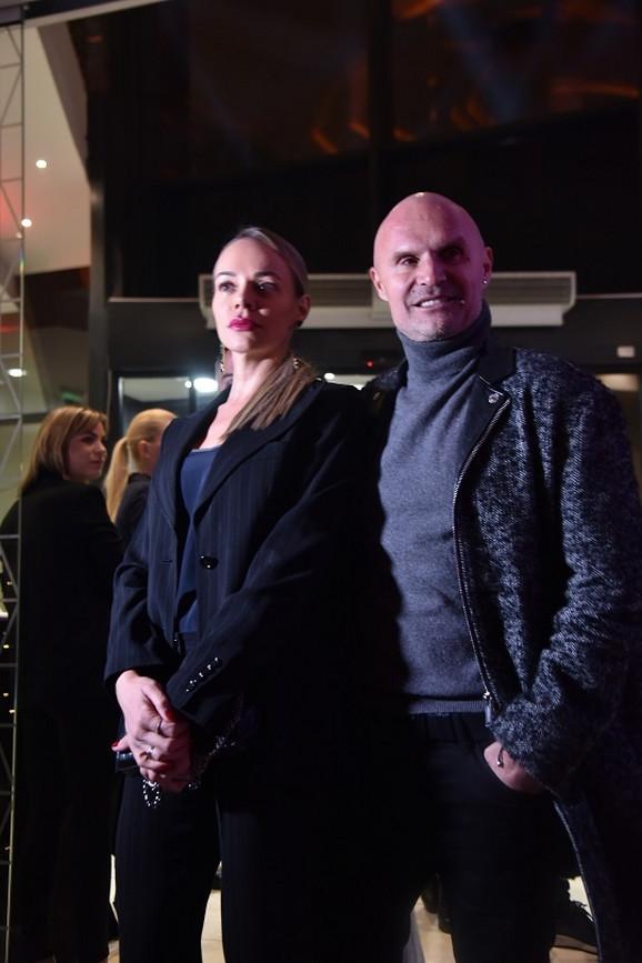 Aleksandar Milić Mili sa suprugom Ninom