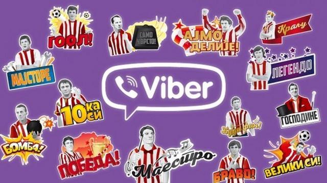 Zvezda Viber stikeri