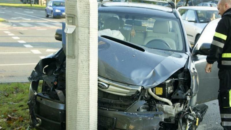 Kolizja wygladała groźnie, na szczęście kierowcom i pasażerom nic się nie stało