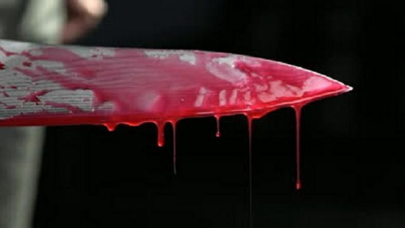 Bloody knife/Illustration (publika)