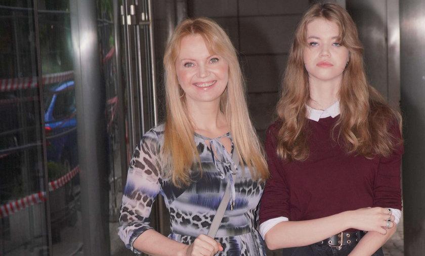 Olga Borys z córką Mirą.