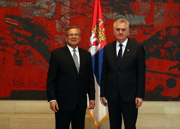 Novi meksički ambasador s predsednikom Srbije