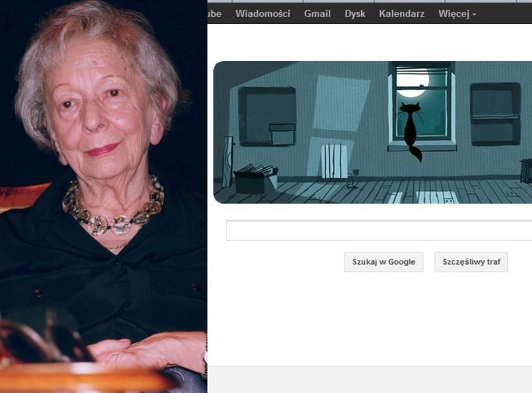 Google Uczciło Urodziny Wisławy Szymborskiej Kotem W Pustym