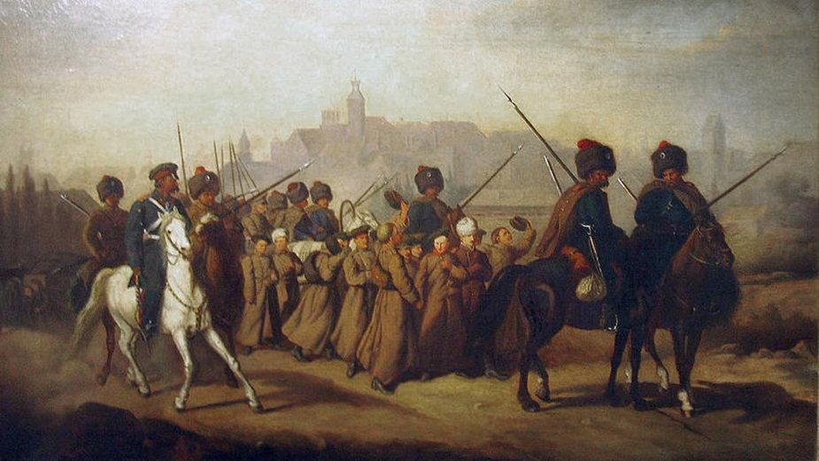 Branka była jedną z form represji - domena publiczna