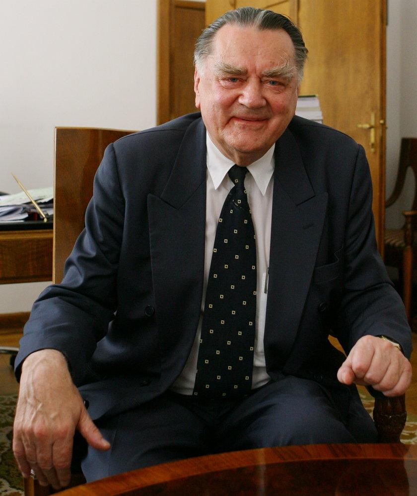 Jan Olszewski, były premier w latach 1991-1992