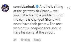 Sonnie Badu comment