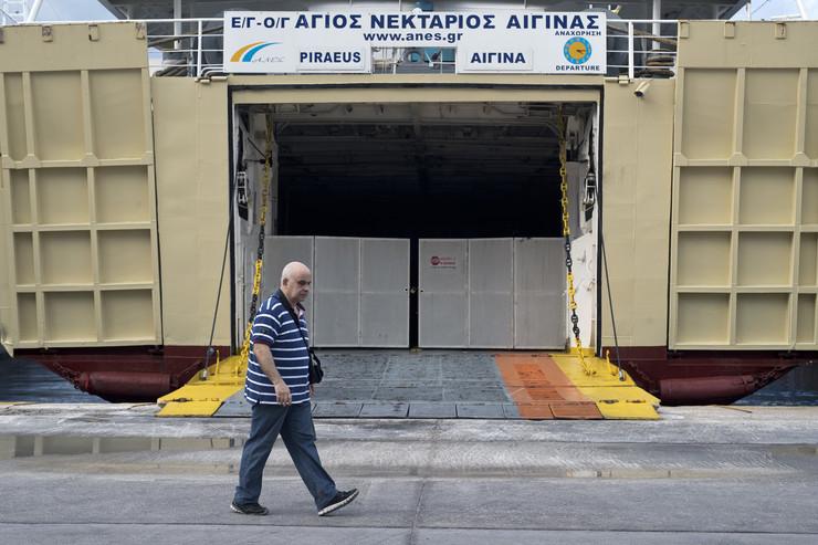 trajekti, grčka, štrajk