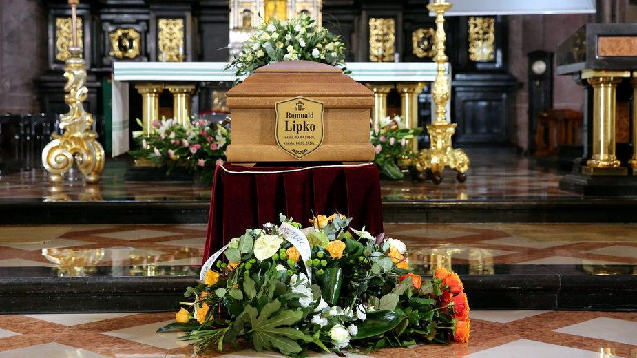 Pogrzeb Romualda Lipki. Nabożeństwo żałobne w lubelskiej archikatedrze