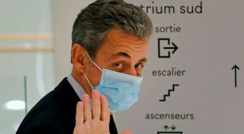 Ex-French Prez Nicolas Sarkozy jailed 3 years for corruption but he'll spend it at home