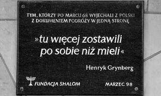 """Obchody rocznicy Marca '68 w Warszawie. """"Życie przecięte. Opowieści pokolenia Marca"""""""