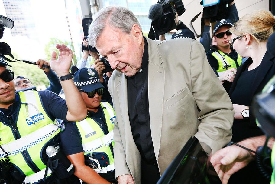 Cardinal George Pell Attends Court For Committal Hearings On Historical Child Abuse Charges TBC.