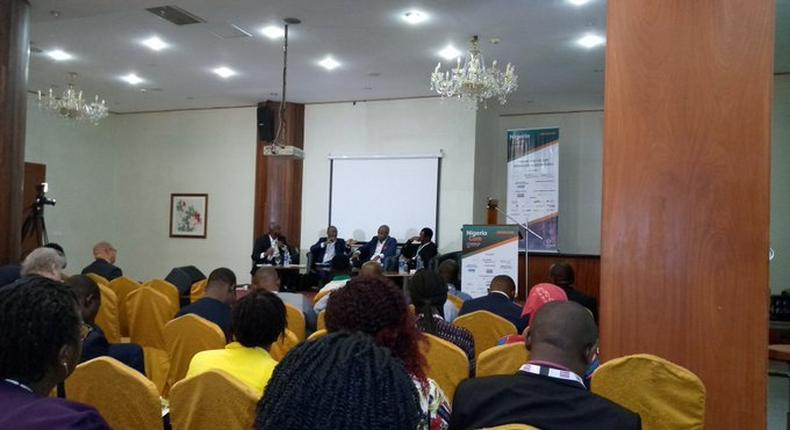 Panelists at Nigeria Com event (Twitter/TechEconomyng)